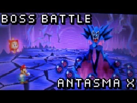 Mario Luigi Dream Team Bros Boss Battle Antasma X