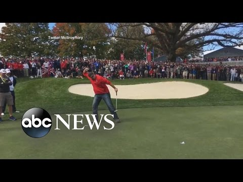 Rory McIlroy Heckler Wins $100 Bet With Putt