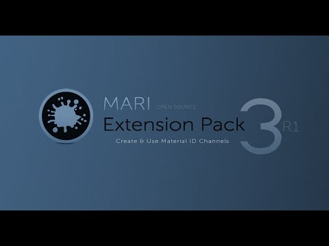 MARI Extension Pack 3: Create & Use Material ID Channels
