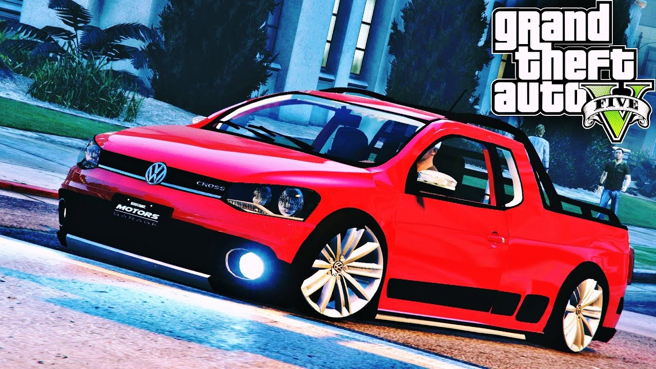 Saveiro cross search pictures photos - Gta V Mod Brasileiro 1 Saveiro Cross Rebaixada