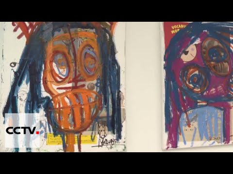 Contemporary African Art: Cote d'Ivoire artist Aboudia takes over New York art exhibition