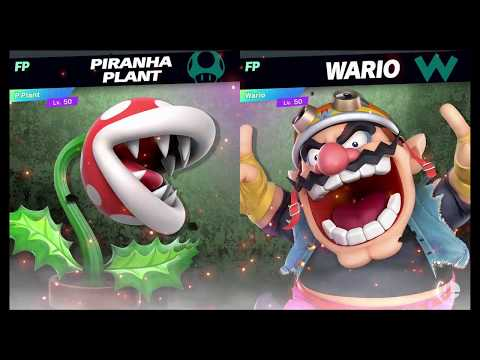 Super Smash Bros Ultimate Amiibo Fights   Request #2696 Piranha Plant vs Wario thumbnail