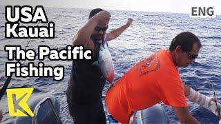【K】USA Travel-Kauai[미국 여행-카우아이]태평양 바다 낚시/Musubi/The Pacific/Fishing/Allen Port