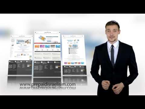 Prepaid Israeli SIM Cards - Website Presentation