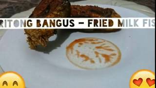 Pritong Bangus - Fried Milkfish