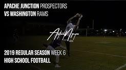 APACHE JUNCTION DOMINATES Black Canyon Region Opener! | Prospector Varsity Football