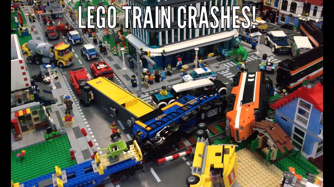 Lego City Car Crash