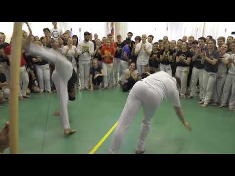Sunday Final Roda. Big Capoeira Meeting 2019. CDO Moscow