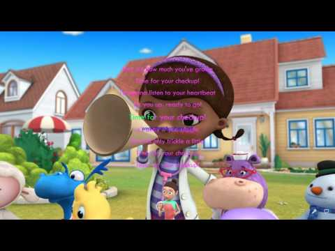 Doc McStuffins - Time For The Checkup! (Lyric)