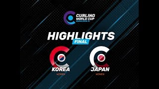 HIGHLIGHTS: Korea v Japan – Women's – Curling World Cup leg two, Omaha, United States