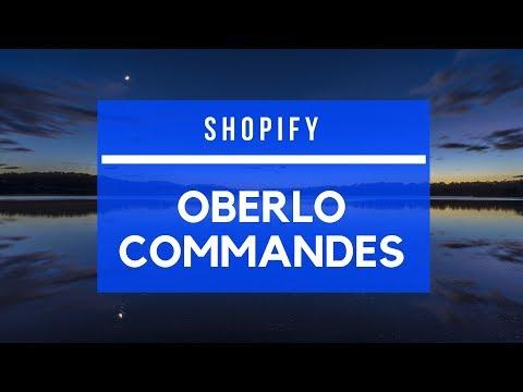 Shopify - Automatisation des commandes avec Oberlo