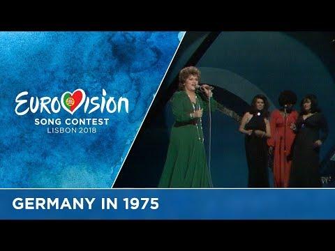 Joy Fleming - Ein Lied Kann Eine Brücke Sein (Germany) Eurovision Song Contest 1975