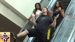 Awkward Dancing on the Escalator