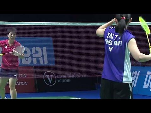 A.Yamaguchi v T.T.Ying |WS| Day 3 Match 1 - BWF Destination Dubai 2014