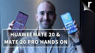 Huawei Mate 20 Pro Vs Mate 20 | Side-by-side comparison