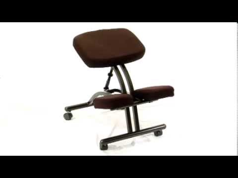Kneeling Chair Toronto How Much Do Covers Cost For A Wedding Ergonomic Posture Split Knees Canada Backs2beds.ca - Youtube