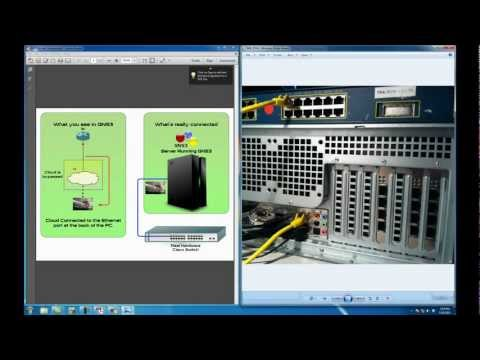 GNS3 Tutorial - Connecting GNS3 Routers to Real Hardware Switches and Network Equipment