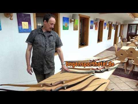 Neue Bodnik Bows Mohawk im Bogensporthotel Bad in Eisenbach | Bogenmesse Termin | Archery