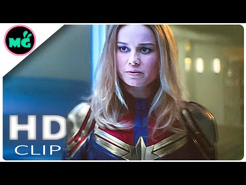 Avengers: Endgame Movie Clip | Captain Marvel In Wakanda Scene (2019) Marvel