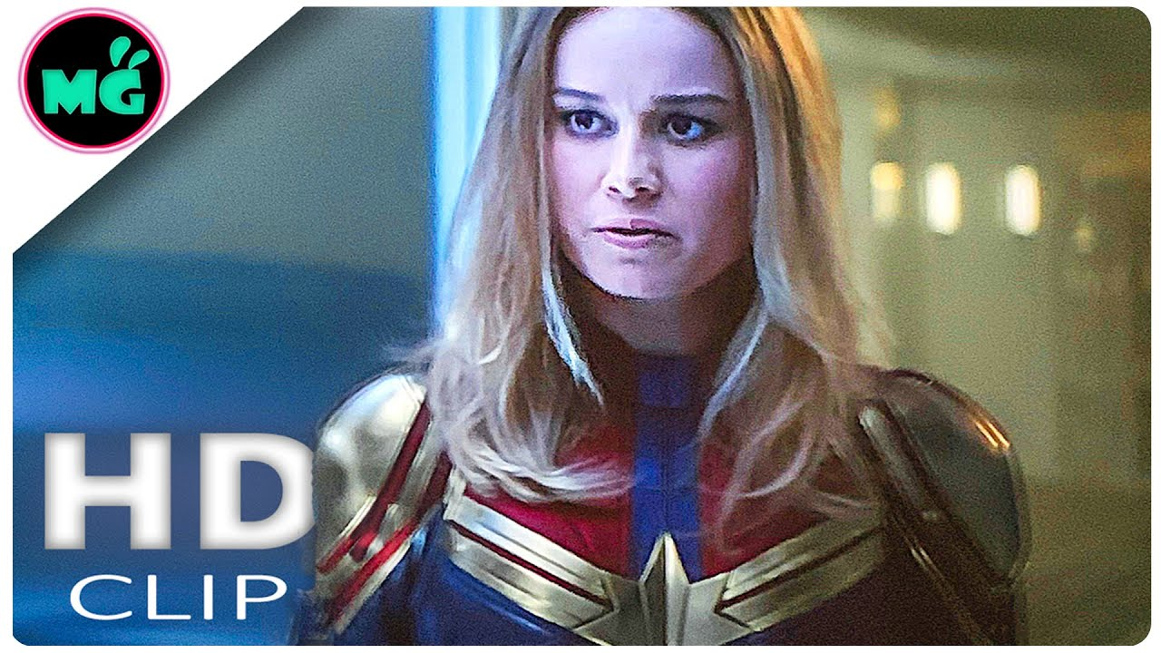 avengers: endgame movie clip | captain marvel in wakanda scene (2019) marvel