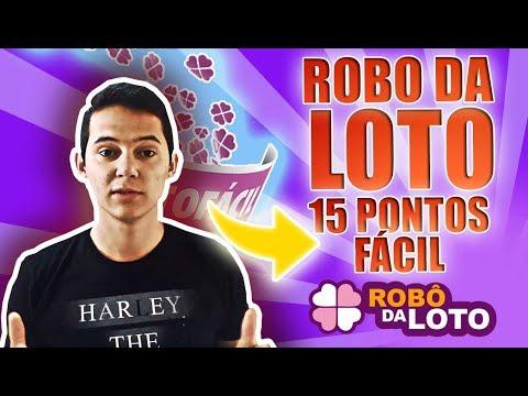 robô da loto login