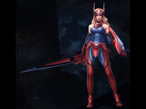 Marvel Future Fight: Sharon Rogers Build (Request By kv_24_7)