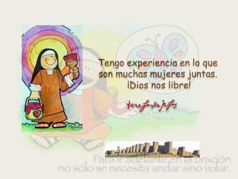 Frases Célebres De Santa Teresa De Jesús Youtube