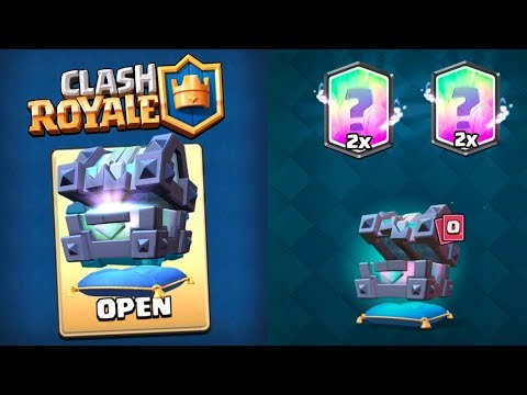 TWO KINGS LEGENDARY CHEST OPENING :: Clash Royale :: BETTER