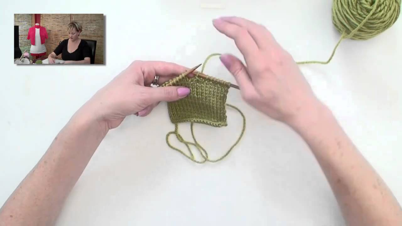 Knitting Stitches Buttonholes : Knitting Help - Buttonholes Doovi