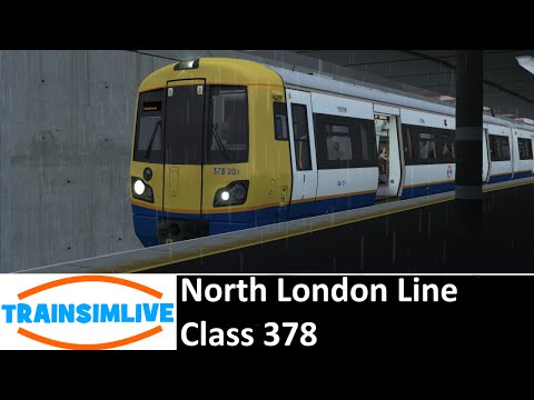 Let's Play Train Simulator 2016 - North London Line, Class 378
