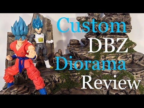 Custom DRAGON BALL Z Diorama Rock Terrain Dio Review by Lawless Studios