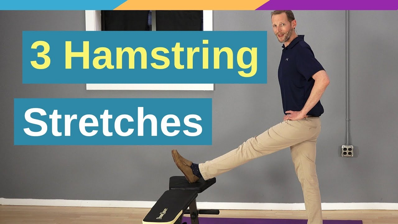 3 Ways To Stretch Hamstrings (Without Ruining Your Back)
