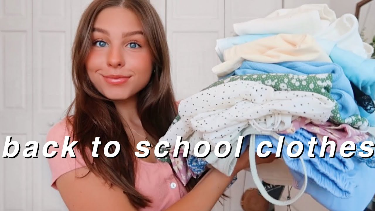BACK TO SCHOOL TRY ON CLOTHING HAUL ft. Zaful