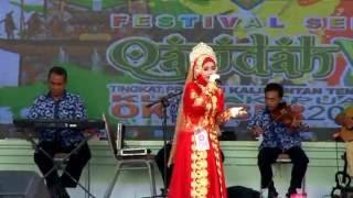 Wallah Zaman  Juara 3 Bintang Vokalis Dewasa Putri FSQ V 2016 Prov.Kalteng utusan P. Raya