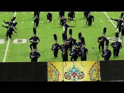 4K: Millard North High School Band @ US Bank Stadium Band Competition 2018