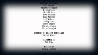 """Dishonored: The Brigmore Witches"", game Credits"