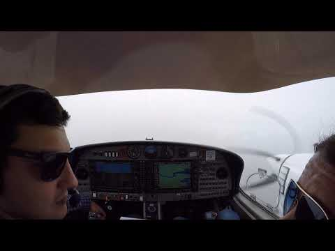 DA42 IFR - North Weald to Guernsey