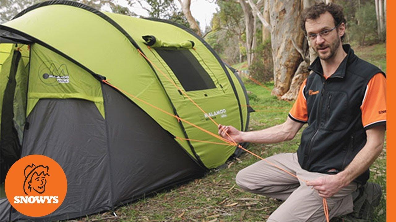 premium selection 74e7a 3eec4 Oztent Malamoo Mega 4P Pop Up Tent