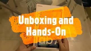 Samsung Galaxy Tab A 10.1 : Unboxing and review of Samsung Galaxy Tablet in 2020 (Exclusive)
