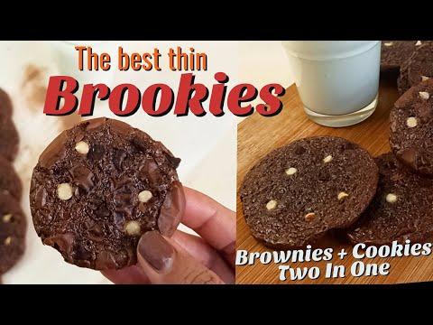 how-to-make-brookies- -thin-brookies-recipe- -brownie-cookies- -brookies-masterchef- -ep:25