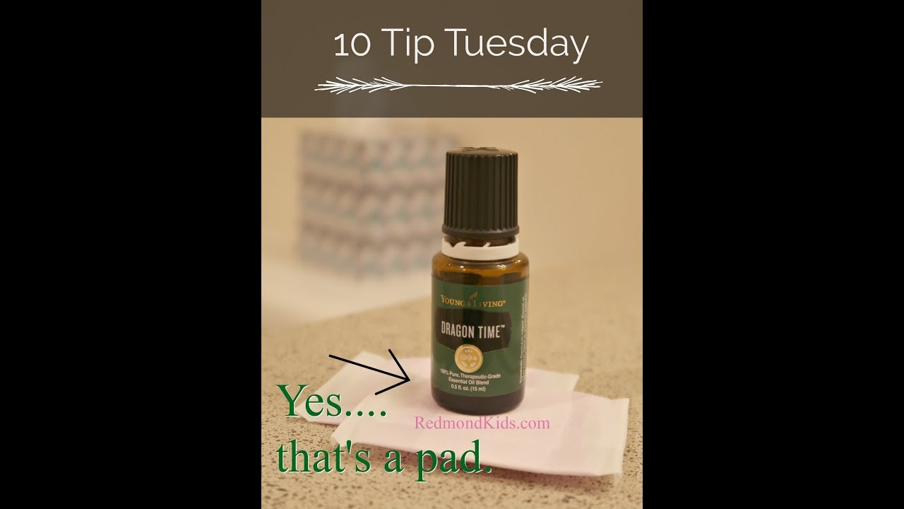 Dragon Time Essential Oil | Ten Tip Tuesday - YouTube