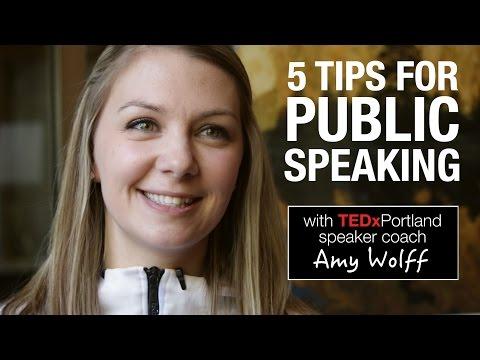5 public speaking tips from TEDxPortland speaker coach