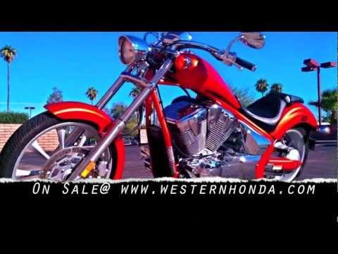 honda fury phoenix- western honda motorcycle dealers in az - youtube