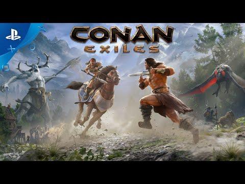 conan-exiles-|-mounts-and-riders-of-hyboria-trailer-|-ps4