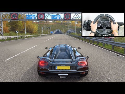 Forza Horizon 4 Koenigsegg Agera RS (Steering Wheel + Paddle Shifter) Gameplay