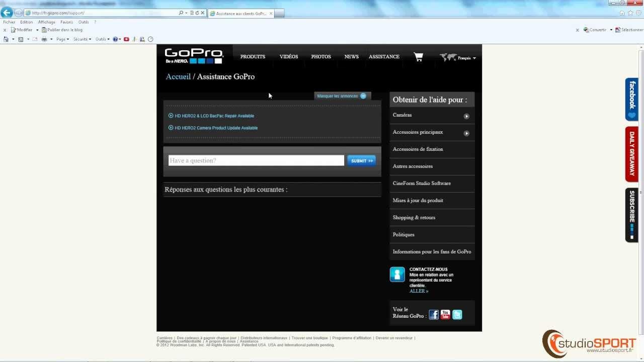 le logiciel cineform studio de gopro