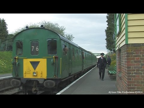 1125 - Class 205 DEMU Hampshire Unit 22nd April 2016 Diesel Weekend MHR