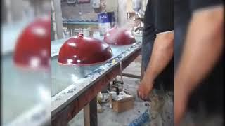 تصنيع حوض رخام صناعي قطعه واحده مهدي من الاخ احمد عبد النبي
