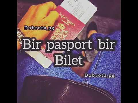 Şeytan deyir ki  bir pasport bir bilet  tüpür her şeye çıx get