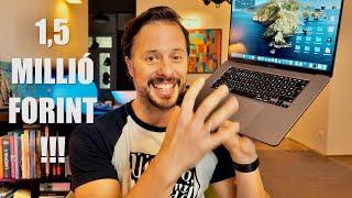 1,5 MILLIÓS Apple laptop és a HÓ! MacBook Pro 16